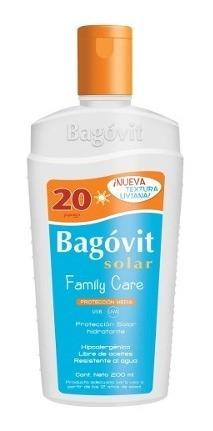 Bagovit Protección Solar Fps20 Emulsión Hidratante 200ml