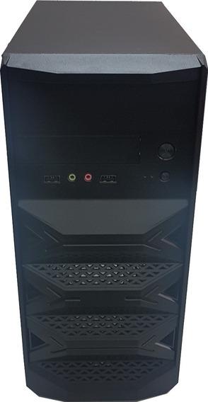 Máquina Cpu Nova Core I3 4gb Hd 500+ Frete E Office