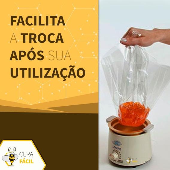 Refil Protetor Plástico Descartável Termoceras De Cera 6un