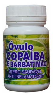 Óvulo De Barbatimão C/ Copaíba (cisto,mioma,ovário,útero)