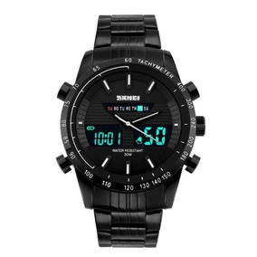 Relógio Masculino Skmei Anadigi 1131 Branco C/ Garantia E Nf