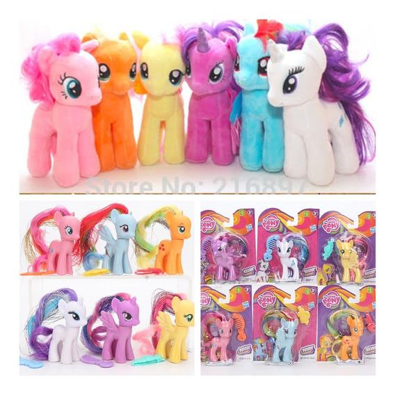 Kit 8 Bonecas My Litlle Pony Dia Das Crianças Natal