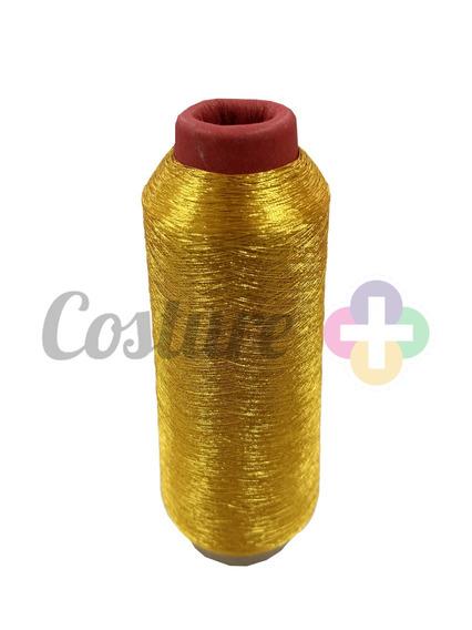 7 Cones De Linhas Para Bordar Metalizada Cores Diversas