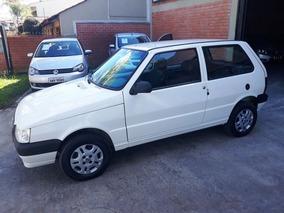 Fiat Uno Mille Economy 2012 Branco Flex