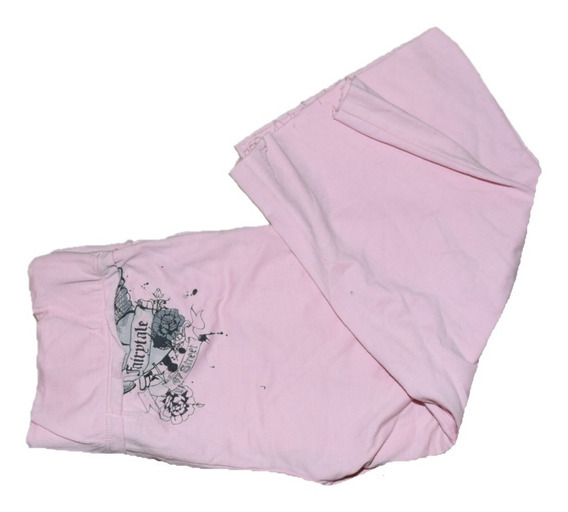47 Street Pantalon Jogging Rosa Corto