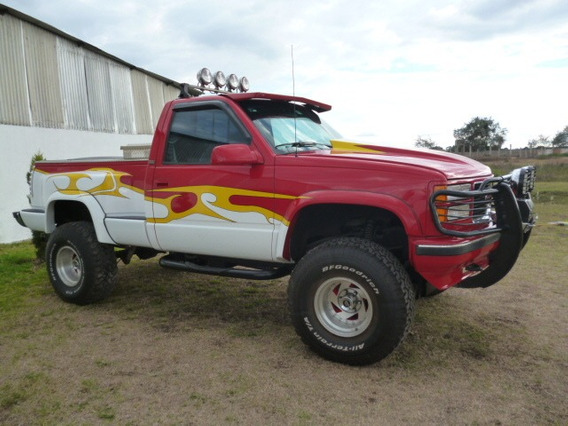 Chevrolet Pick-up Circo Roja