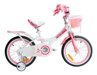 Bicicleta Infantil Royal Baby Jenny R 14 Niña Canastito Rosa
