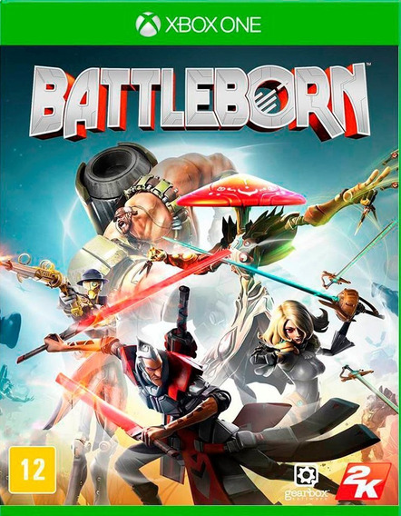 Jogo Battleborn Xbox One Original Game Requer Internet
