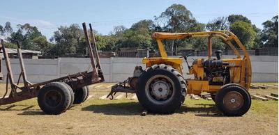 Trator Cbt Motor Mercedez Com Guincho Tmo E Carreta