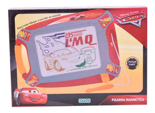 Imagen 1 de 2 de Cars Pizarra Magnética Ditoys Disney Pixar