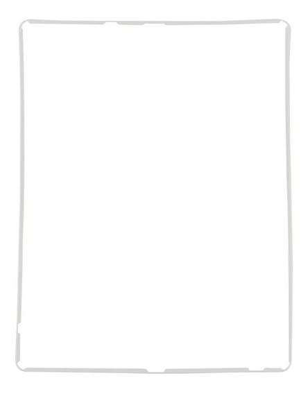 Moldura Aro Middle Frame Display iPad 2 3 4 Branco E Preto