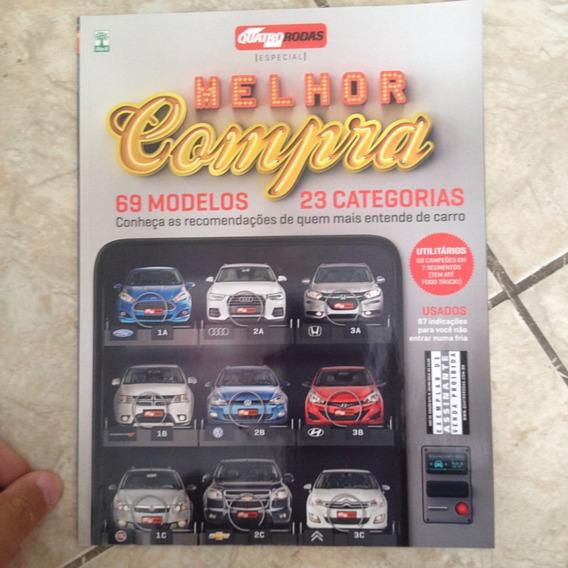 Revista Quatro Rodas Melhor Compra 69 Modelos 23 Categorias