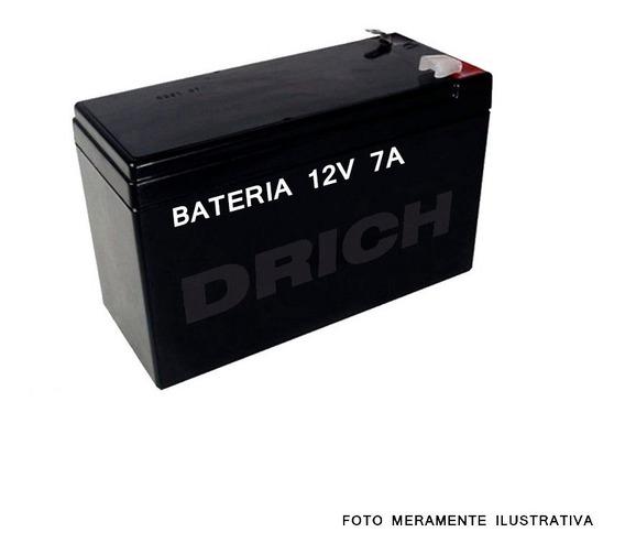 Bateria Selada 12v 7a Alarmes, Cerca Elétrica, Eletroímã