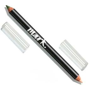 Lápis Delineador E Iluminador Olhos 2 Em 1 (azul Ou Verde)