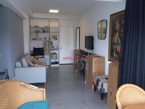 #=apartamento Com 1 Dormitório À Venda, 45 M² Por R$ 760.000 - Pinheiros.!! - Ap10546