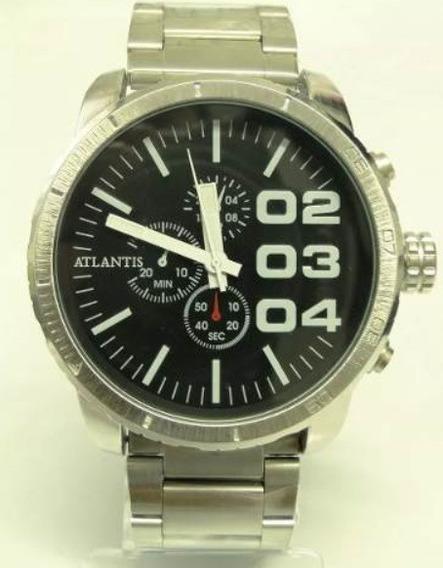 Relógio Masculino Atlantis Esportivo A3309 Extra Grande
