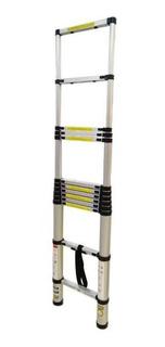 Escalera Telescópica De Aluminio Modelo Sk0112a 3.8m