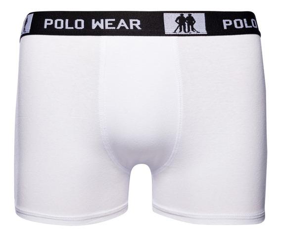 Kit 10 Cuecas Polo Wear Boxer 59220