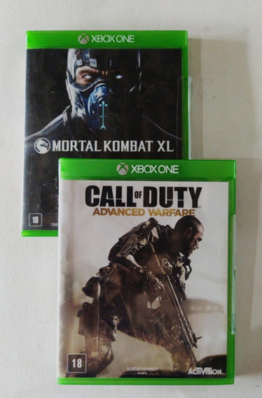 Call Of Duty + Mortal Kombat Xbox One Original (o Par)