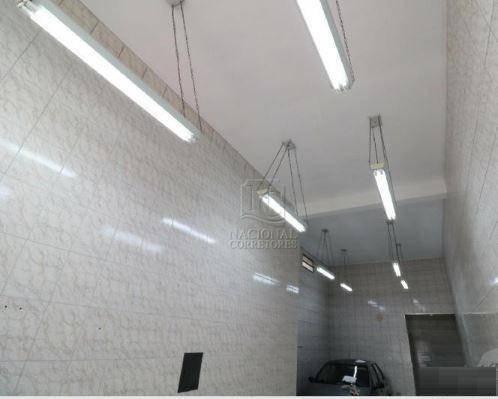 Salão Para Alugar, 45 M² Por R$ 1.500/mês - Parque João Ramalho - Santo André/sp - Sl0927