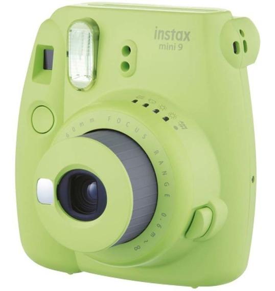 Câmera Instantânea Instax Mini 9 Verde Lima - Fujifilm