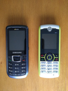 Celulares: W233 Eco + Samsung Duos Gt-c3212i Dual Sim Usados