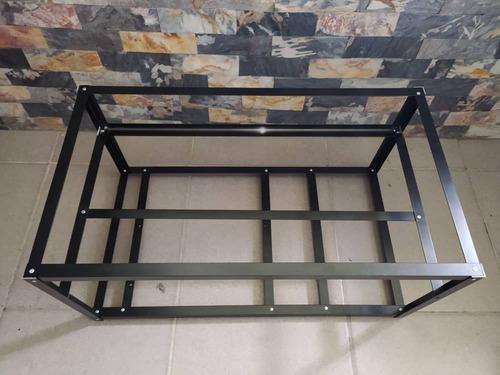 Rig O Estructura Minero,rack, Ethereum, Btc 100%aluminio