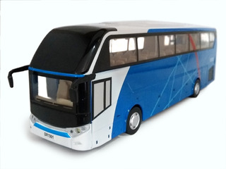 Miniatura Onibus Transporte Passageiros Coletivo Metal E1 32