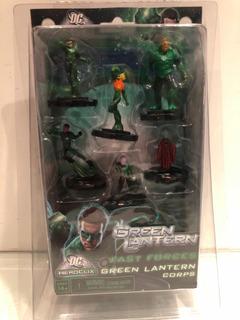 Heroclix Starter Set Linterna Verde Fast Forces