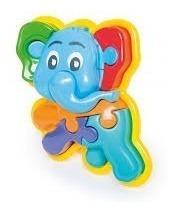 Rompecabezas Calesita 3d Animal Puzzle Elefante