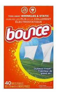 Hojas Toallitas Suavizantes Secador Bounce Outdoor Fresh #80