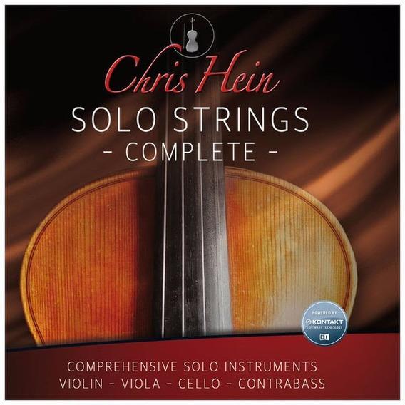 Chris Hein - Solo Strings Complete (win&mac) - Mídia Física