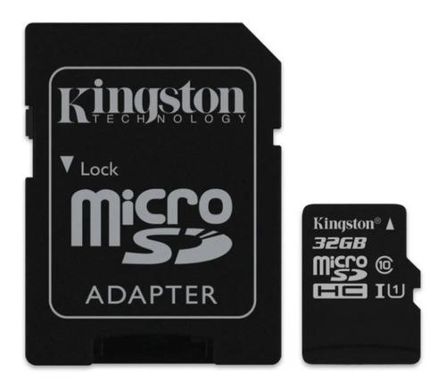 Imagen 1 de 2 de Memoria Micro Sd 32 Gb Kingston Canvas Select