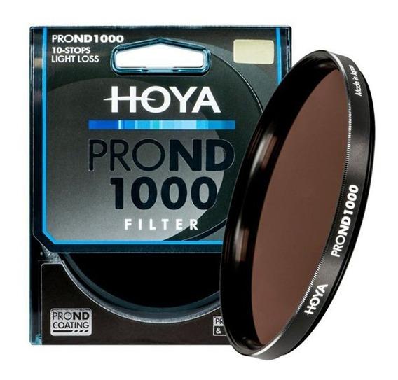Filtro De Densidade Neutra Hoya Pro Nd 1000x 82mm