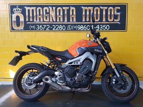 Yamaha Mt 09 Abs - Laranja - 2016 - Km 12.000