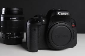 Câmera Fotográfica T6i Canon + Lente 18-55 Impecável