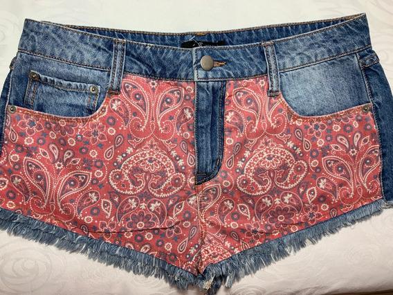 Short Jeans Forever 21 Original Eua Tam 28 Ou 40