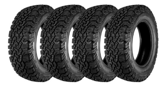 Kit 4 Pneus Remold 205/70r15 Free Way At Ko2 Suzuki Jimny