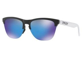 23a2556a47 Oculos Espelhado Masculino Azul Oakley - Óculos De Sol no Mercado ...