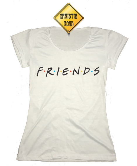 Remera De Mujer Frieds Y Central Perk Marca Christie Road