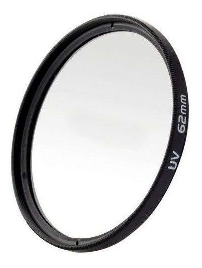 Filtro Protetor Uv Ou De Proteção Para Lentes Câmeras Fotográficas 62mm 62 Mm Fotoparts