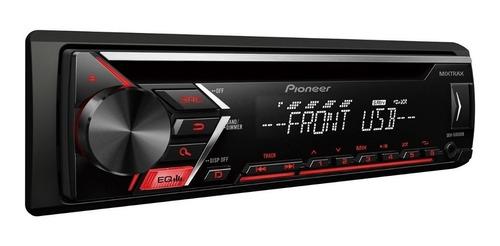 Estéreo para auto Pioneer DEH S1050UB con USB y lector de tarjeta SD