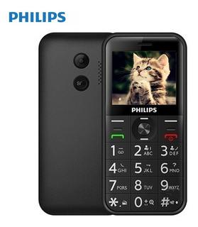 Philips E163k Dual Sim Longo Standby 2g Recurso Telefone Pre