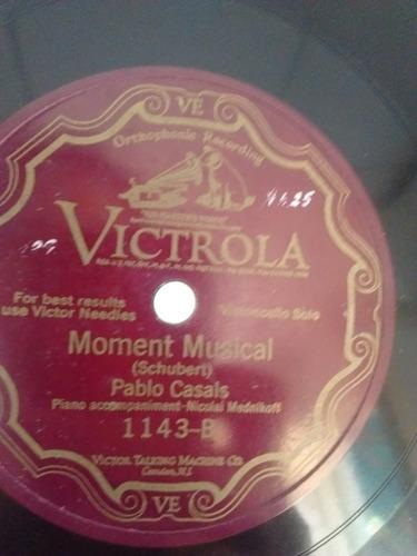 Pablo Casals Y Nicolai Mednikoff Disco Pasta 1143 C24