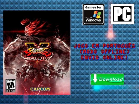 Street Fighter V: Arcade Edition - Pc - Mídia Digital!!!