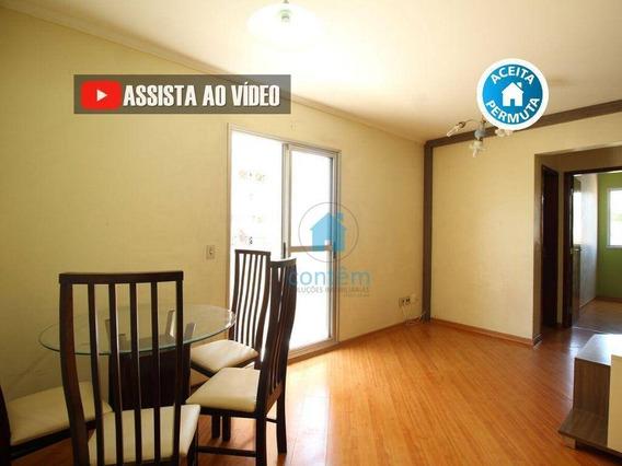 Ap1536- Apartamento Com 2 Dormitórios À Venda, 64 M² Por R$ 239.000 - Bussocaba - Osasco/sp - Ap1536