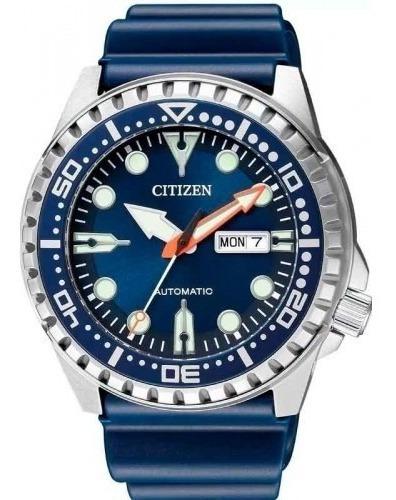 Relógio Citizen Automático Visor Azul Tz31123f Marine Sports
