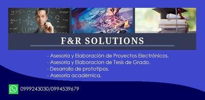 Elaboración De Tesis / Proyectos Electrónicos