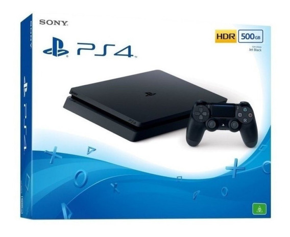 Console Ps4 Playstation 4 500gb Slim Lacrado Original E Nf-e