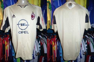 Milan 2004 Camisa Goleiro Tamanho G.